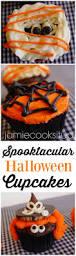 spook tacular halloween cupcakes