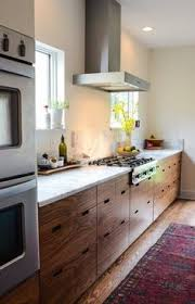 Cleaning Wood Kitchen Cabinets by Modern Rustic Kitchen With Modern Wood Cabinets Wood Floors By