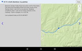 Idot Road Conditions Map Idaho 511 Android Apps On Google Play