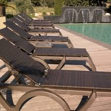 Pool Chaise Commercial Outdoor Chaise Loungers And Deck Chairs