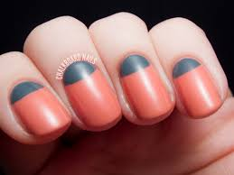 2 colour nail designs image collections nail art designs