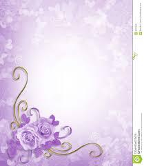 wedding invitation background free download wedding roses lavender background stock photography image 6407802