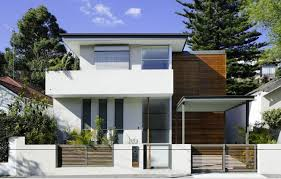 contemporry house to narrow lot modern architecture floor plan