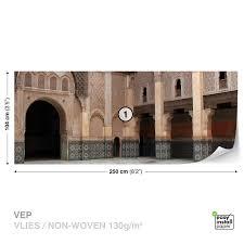 wall mural photo wallpaper xxl ben youssef madrasa marrakesh wall mural photo wallpaper xxl ben youssef madrasa