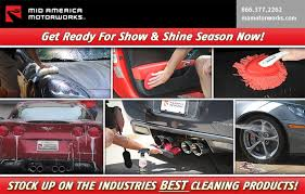 mid america corvette stock up on corvette cleaning supplies at mid america motorworks