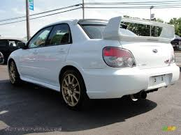 impreza subaru 2006 2006 subaru impreza wrx sti in aspen white photo 3 523581