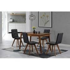upholstered dining room sets modern upholstered chairs dining room sets allmodern