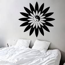 Wall Decals Vinyl Sticker Mandala by Online Get Cheap Yin Yang Buddha Wall Stickers Aliexpress Com