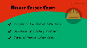 types of green color safety helmet colour code in construction hard hats civilology