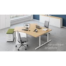 Schreibtisch 50 Tief Sympas Schreibtisch Typ A Von Assmann Büromöbel 80 Cm Tief 68