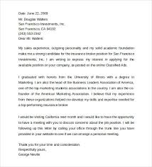 biology cover letters
