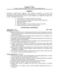 Example Of Qualifications In Resume by Resume Examples One Job Resume Examples One Job Resume Examples