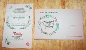 cara membuat surat undangan pernikahan sendiri detail produk sc wreath 1 lembar amplop undangan barat undangan