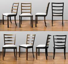 dining french art deco black lacquer chairs french art dining