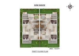 study room floor plan villas in kochi luxury villas in cochin confident group