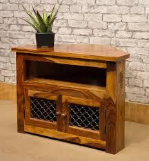 solid jali sheesham wood treasure chest ibf 109 4 size 1 corner tv cabinet 80cm wide solid indian rosewood sheesham