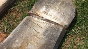 pictures of headstones nearly 100 headstones overturned at warrenton cemetery 50 000