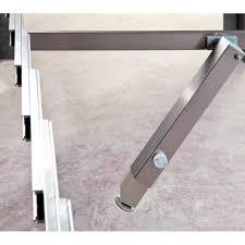 table extension slide mechanism surprise table extension mechanism with central telescopic leg