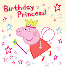 peppa pig birthday pig birthday princess gift card
