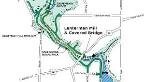 Map Of Youngstown Ohio by Mill Creek Park Lanterman U0027s Mill And Mill Creek Gorge Trekohio