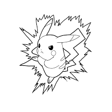 coloriage pokemon dessins de pikachu sacha bulbizarre u2026
