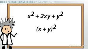 perfect square binomial definition u0026 explanation video u0026 lesson