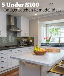 Affordable Kitchen Remodel Design Ideas Budget Kitchen Remodels Paso Evolist Co