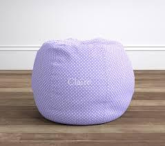 lavender mini dot anywhere beanbag pottery barn kids