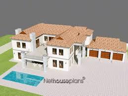 Two Storey Floor Plan Double Storey House Plans Sa Nethouseplansnethouseplans