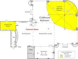 house dimensions venue spaces at club auto sport san jose ca the best event