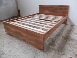 minimalist bed by tim denshire key handkrafted