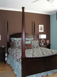 Brown Accent Wall by Blue And Brown Bedrooms Google Search Blue And Brown Bedrooms