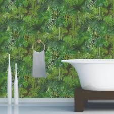 Papier Peint Vert Anis by Papier Peint Papier Mur Vegetal Leroy Merlin