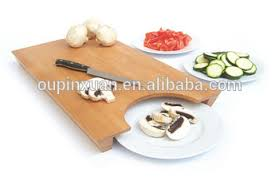 cutting board plate 2015 new design bamboo cutting board with to put plate smart