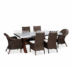 eucalyptus wood dining table luxury design outdoor patio zinc top 6 seater chairs eucalyptus wood