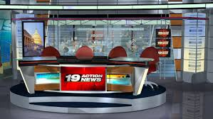 broadcast studio sets by adalberto ortiz at coroflot com