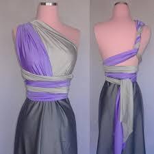 3 color ombre infinity convertible wrap twist dress 37 colors