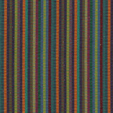 Blue And White Striped Upholstery Fabric Teal Orange Striped Furniture Upholstery Fabric By Popdecorfabrics