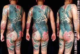 leg japanese back carp koi body tattoo by sebaninho tattoo