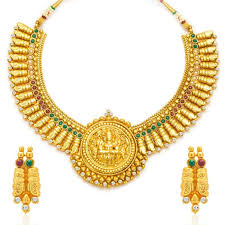 women necklace design images Buy sukkhi designer gold plated temple jewellery necklace set for jpg