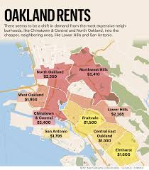 Chinatown San Francisco Map by Here Are Oakland U0027s Most Expensive And Most Affordable