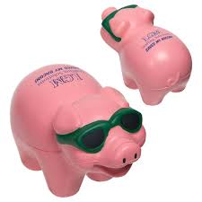 cool pig stress ball with custom logo inkhead com