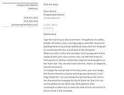 standard business letters format 4 business letter standard form