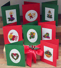 cross stitch cards ebay