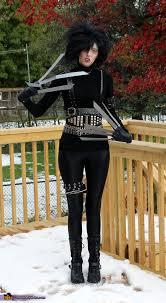 edward scissorhands costume edward scissorhands diy costume idea