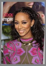 black braided hairstyles with weave
