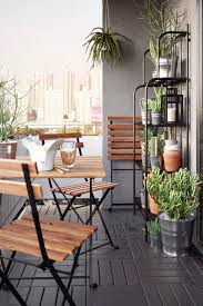 Outdoor Furniture Balcony by Best 25 Small Patio Furniture Ideas On Pinterest Apartment