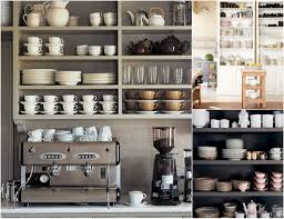 rustic kitchen design with diy wood kitchen shelving units for