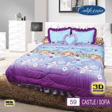 Bedroom Premium Sofia Jual Bedcover Set King 180 200 California Ukuran King Set Motif