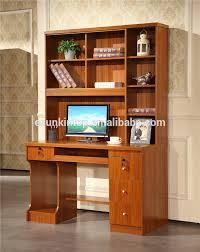 bureau avec etagere ordinateur de bureau en bois avec étagère armoire tiroir buy